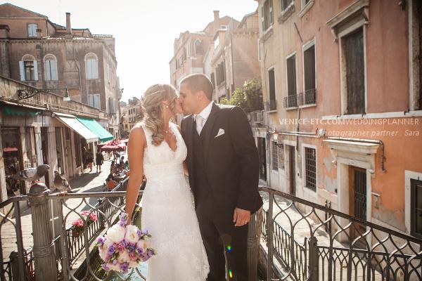 Alexandra se marie à Venise en Juin 2014