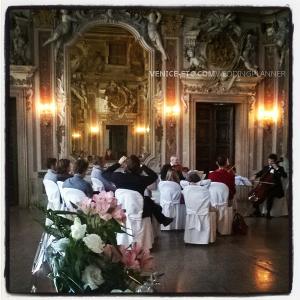 Concert privé à Venise