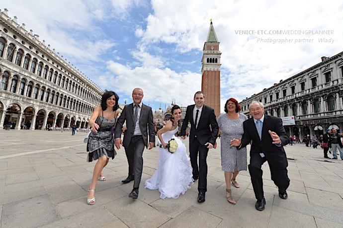 Mariage à Venise