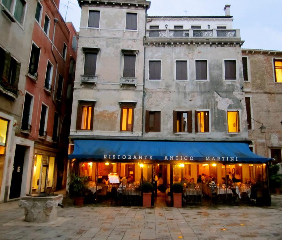 Ristorante Antico Martini, Italie
