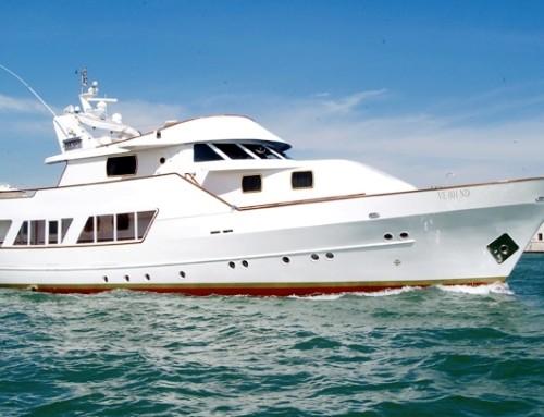 Yacht 31m, lagune de Venise