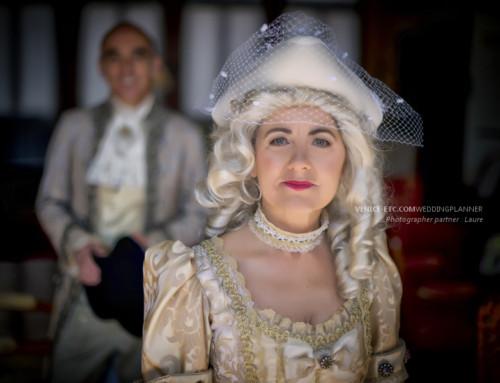 Mariage en costume Vénitien