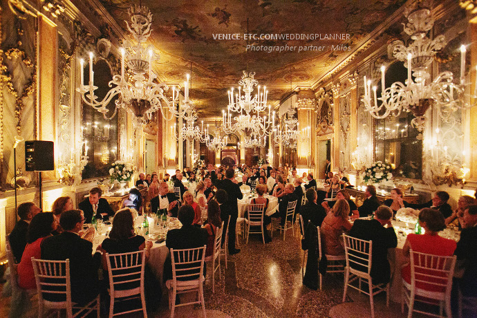 Se marier à Venise dans un luxueux palais vénitien.