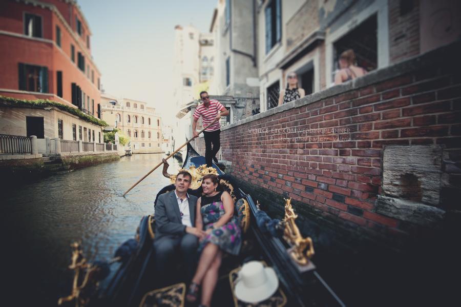 Séance photo à Venise