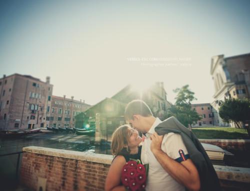 Demande en mariage à Venise !