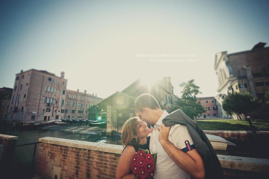 Demande mariage Venise