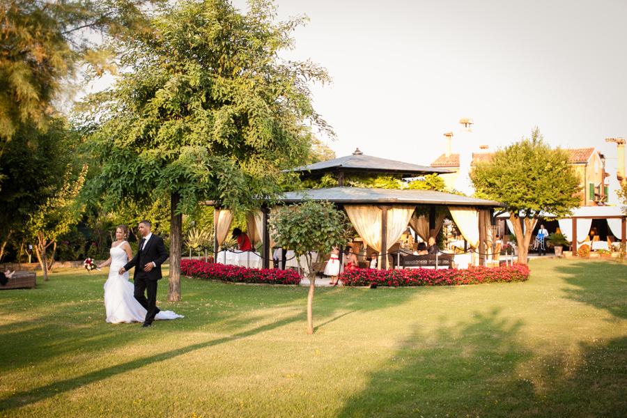 Mariage à Venise, Italie