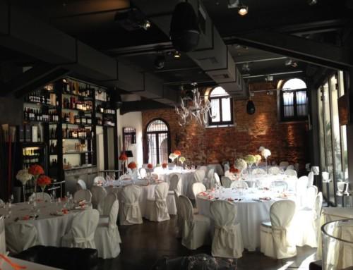 Restaurant moderne dans un Palazzo XVème siècle