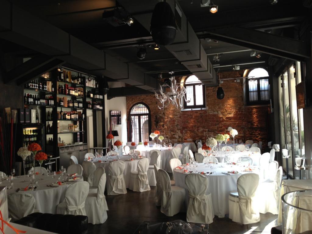 Restaurant à Venise, Italie