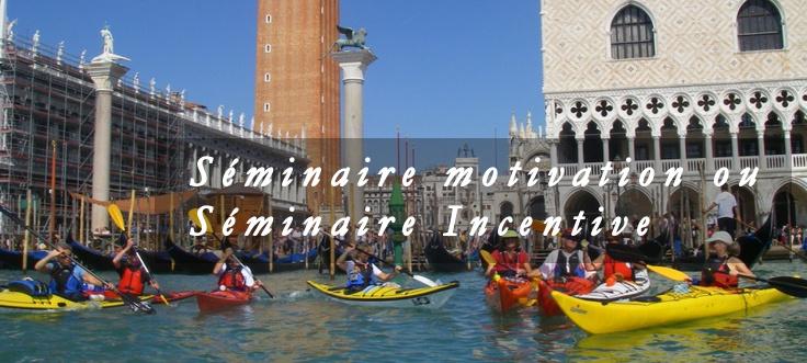 Séminaire d'entreprise à Venise, Italie