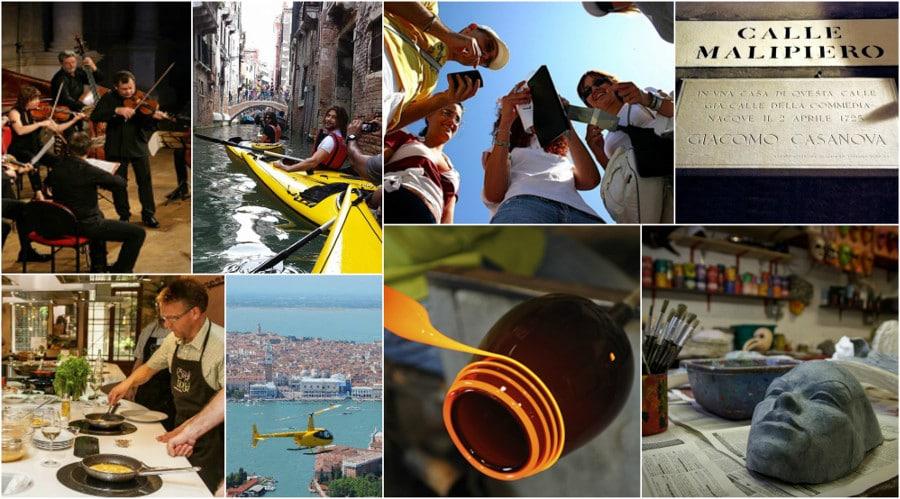 Activités incentive à Venise