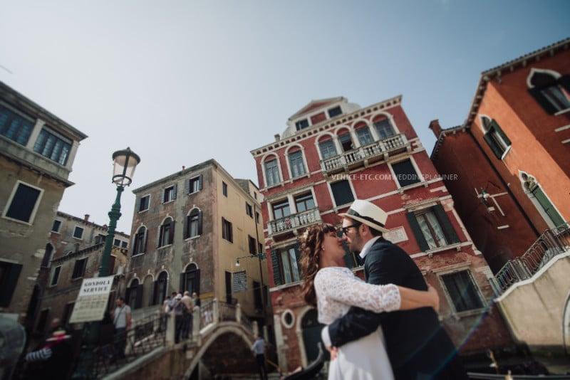 mariage intime et romantique