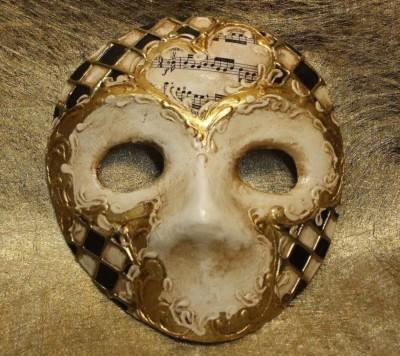 Masque Moretta, masque traditionnel du carnaval