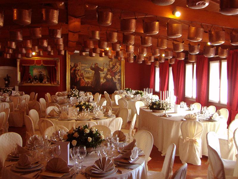 decorazione tavola matrimonio