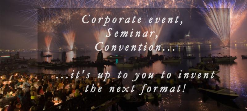 corporate event venezia