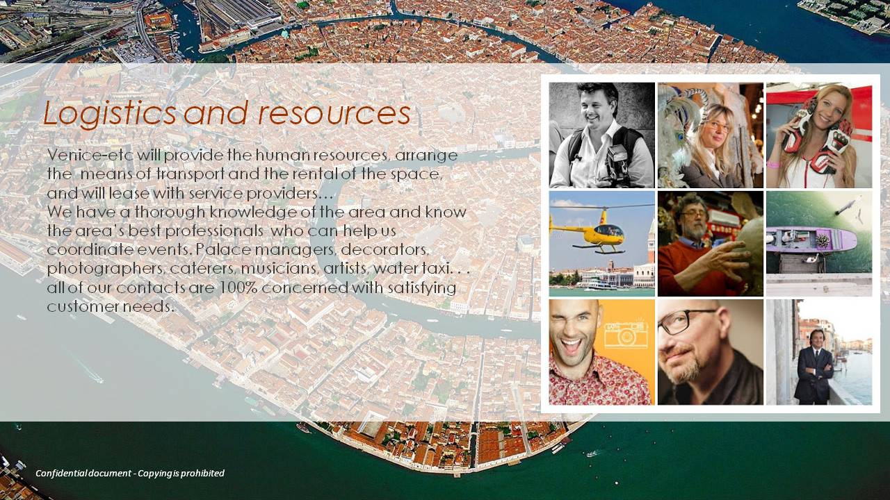 logistics resources venice