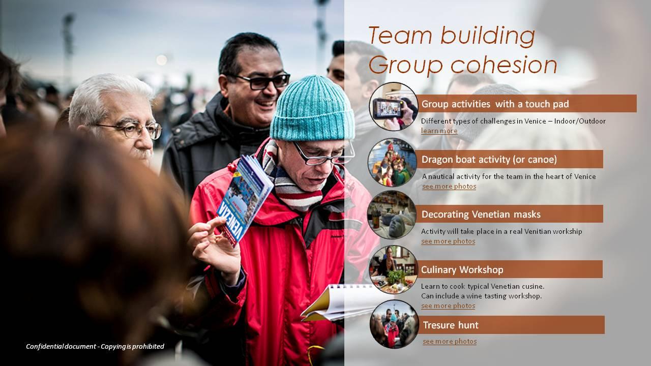 team building venice