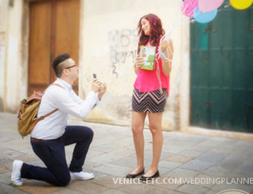 Marriage proposal near Santa Maria dei Miracoli