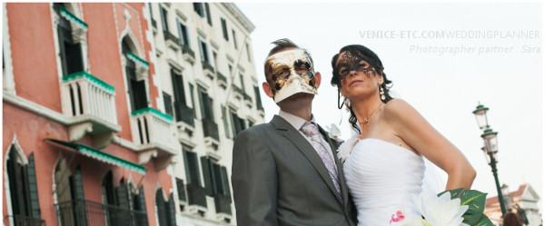 Symbolic wedding Venice
