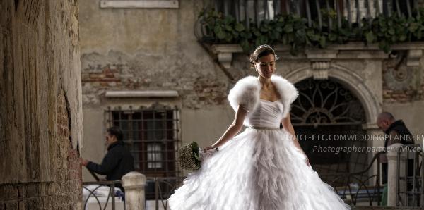 Wedding Elise in Venice in November 2013
