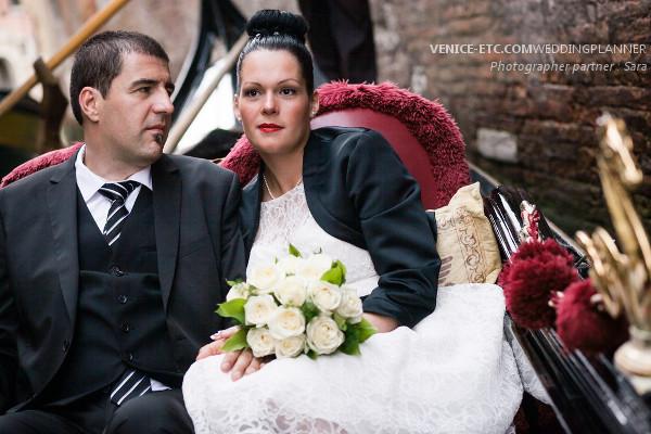 Civil wedding in venice of Alessandre and Jessica 5