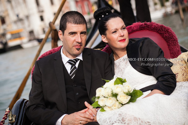 Civil wedding in venice of Alessandre and Jessica 8