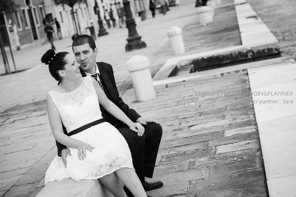 Civil wedding in venice of Alessandre and Jessica 12