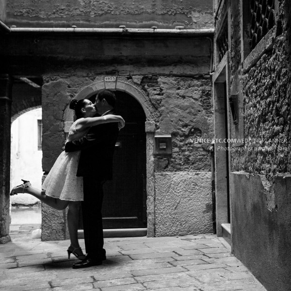Civil wedding in venice of Alessandre and Jessica 16