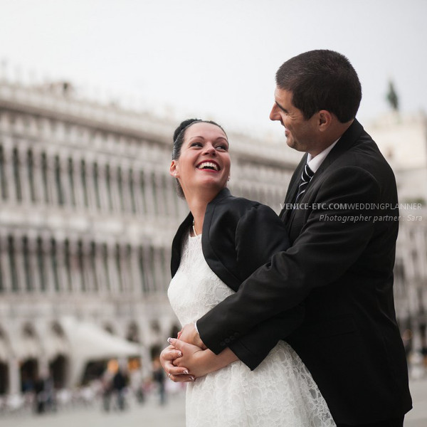 Civil wedding in venice of Alessandre and Jessica 20