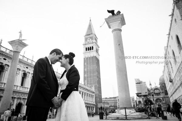 Civil wedding in venice of Alessandre and Jessica 24