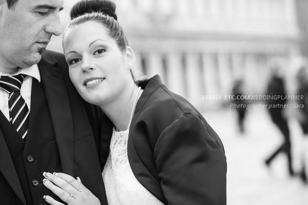 Civil wedding in venice of Alessandre and Jessica 25