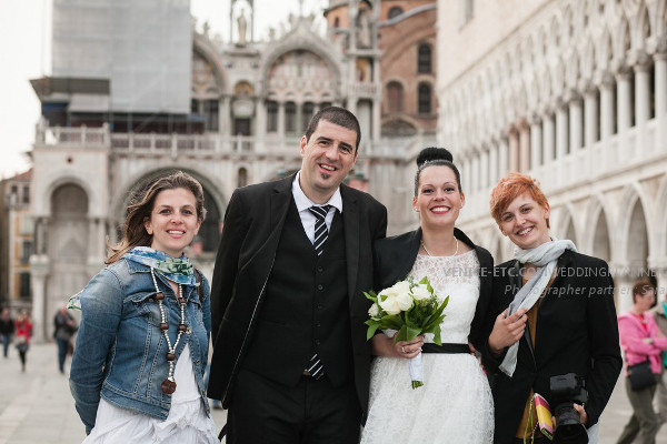 Civil wedding in venice of Alessandre and Jessica 26