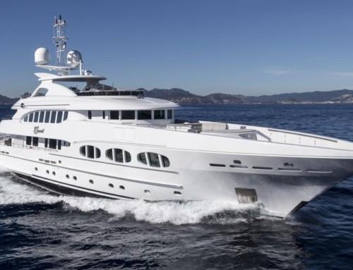 Yacht, lagoon of venice