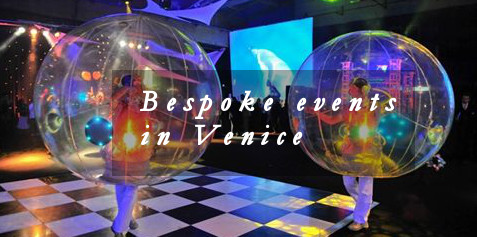 Bespoke events in Venice
