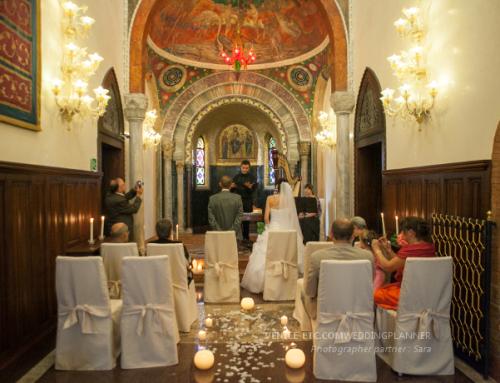 Symbolic wedding in Venice