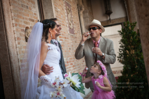 wedding vow renewal in Venice