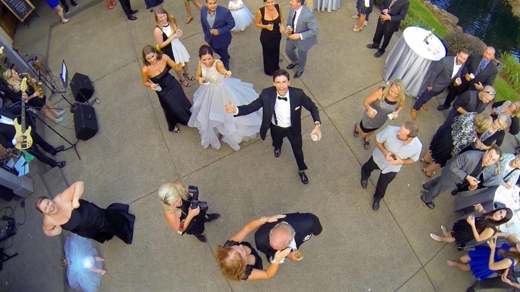 drone wedding