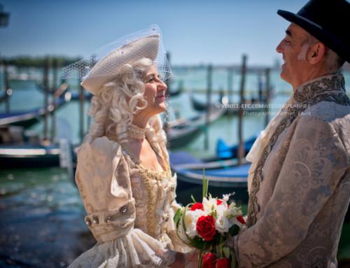 Marriage anniversary in Venice