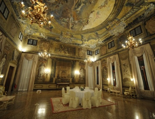15th century Palace, beauty of an ancient noble Residence